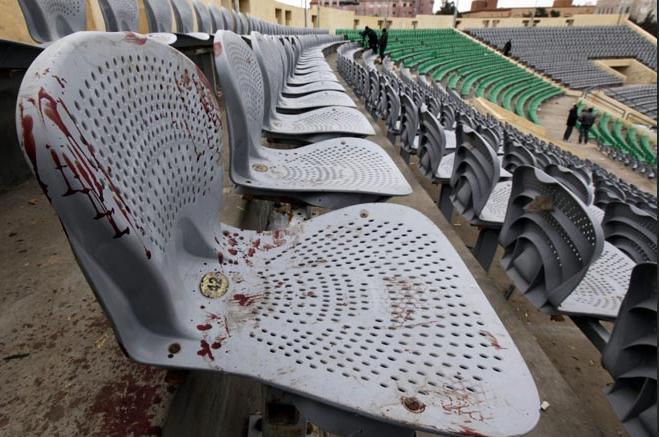 Port Said football stadium