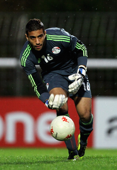 Egyptian U23s Ahmed El Shennawy