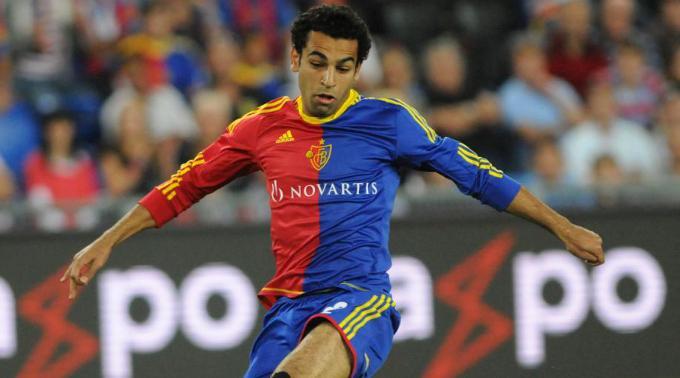 Salah - Champions League debut