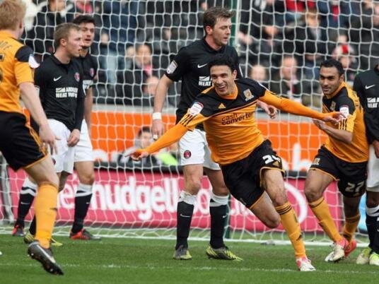 Gedo celebrates with Hull City