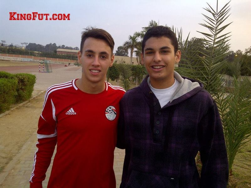 King Fut's Ziad Ibrahim with Rhami-Jasin Ghandour