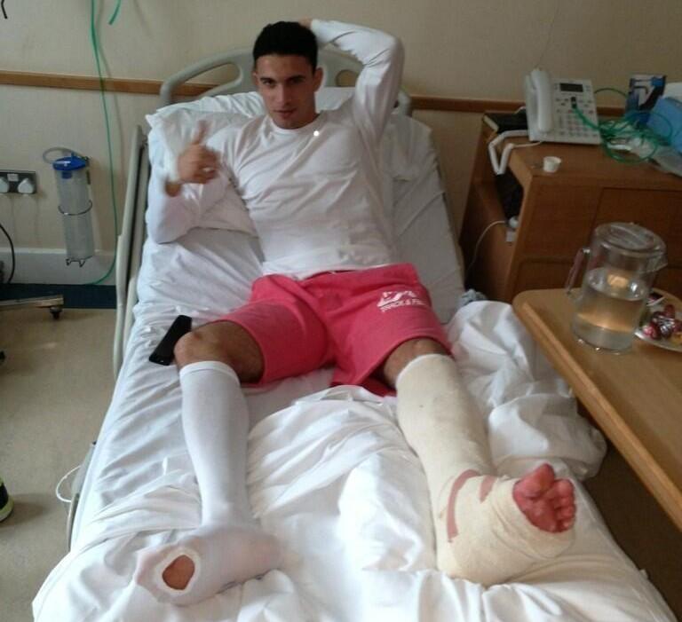 Gedo injured