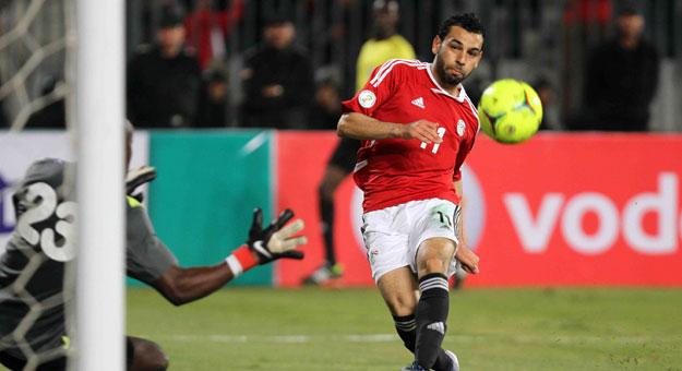 Mohamed Salah goal - Egypt