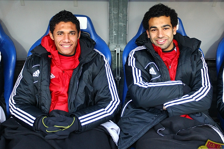 FC Basel duo - Salah and Elneny