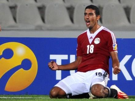 Egypt 3-0 Uganda - Koka scores