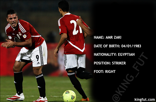 Amr Zaki - Player Profile
