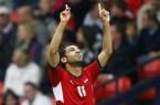 Mohamed Salah aims