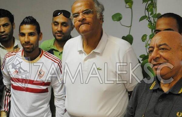 Zamalek sign Momen Zakaria