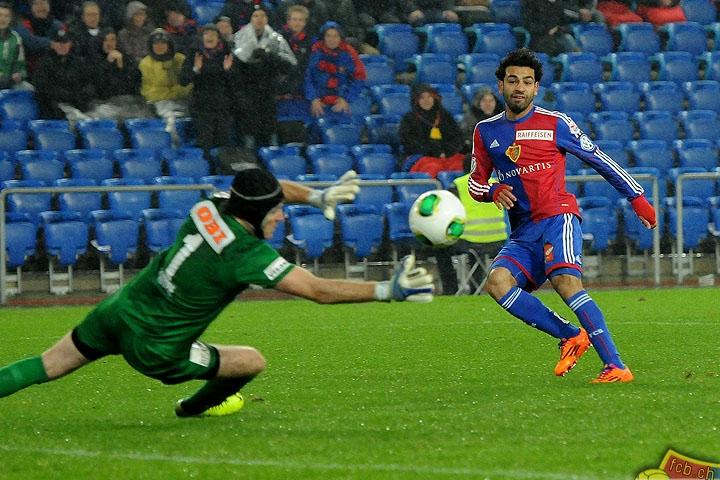 Mohamed Salah shoots
