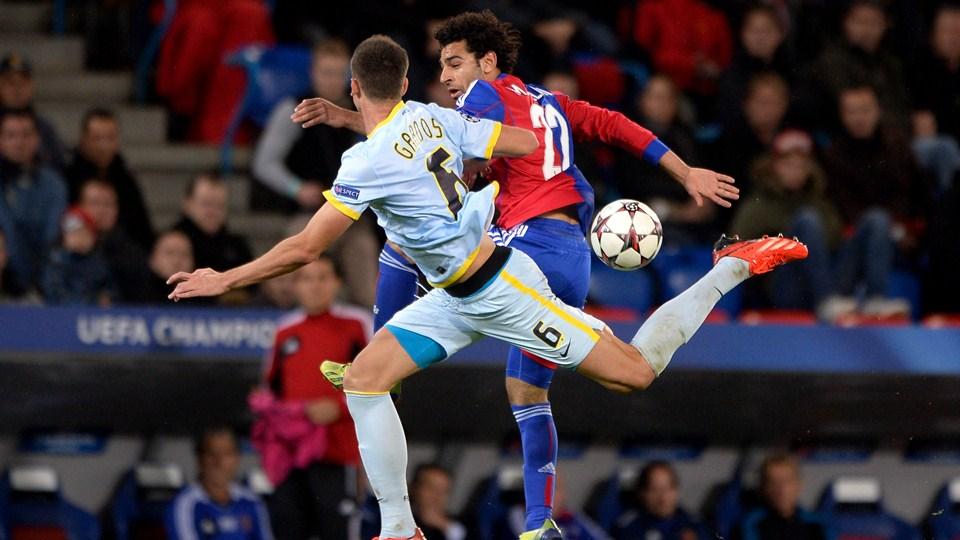 Mohamed Salah - FC Basel - UEFA Champions League