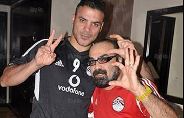 Amr Zaki & Abou El-Leef - El-Sisi sign