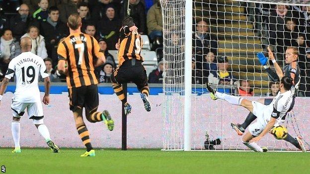 Graham goal vs Swansea