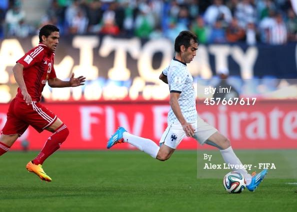 Cesar Delgado vs Al Ahly