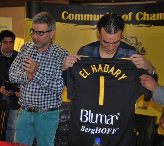 Essam El-Hadary extends - WDFC