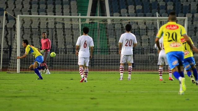 Ismaily vs Zamalek - Group B