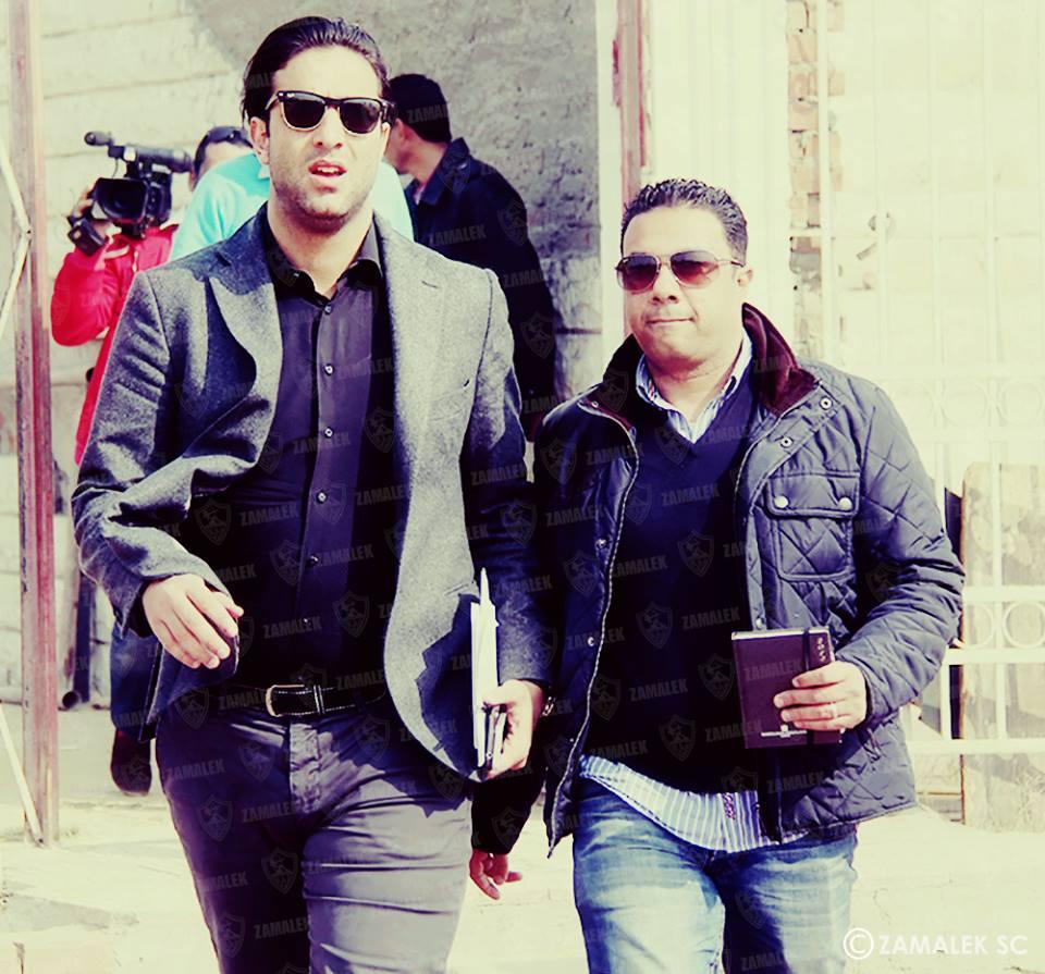 Mido arrives at Zamalek as coach
