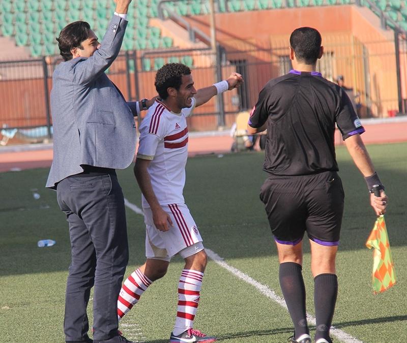 Mido Zamalek coach