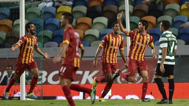 Ahmed Hassan Koka scores