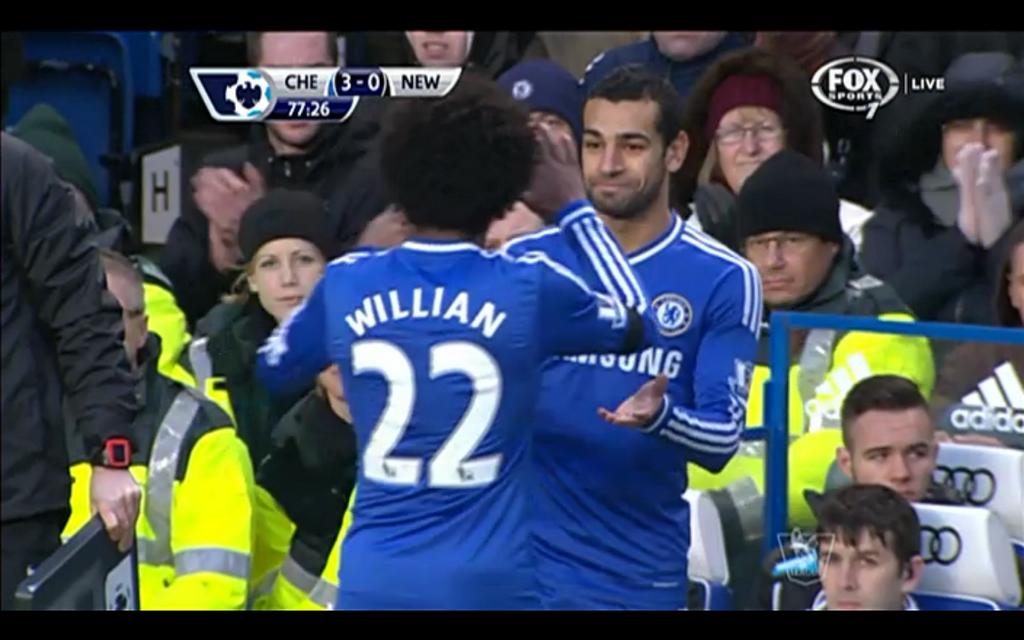 Mohamed Salah Debut