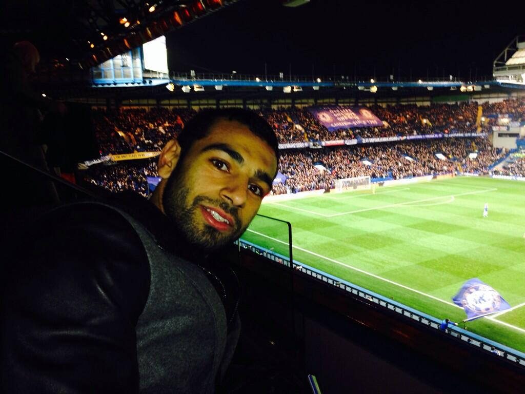 Mohamed Salah at Stamford Bridge