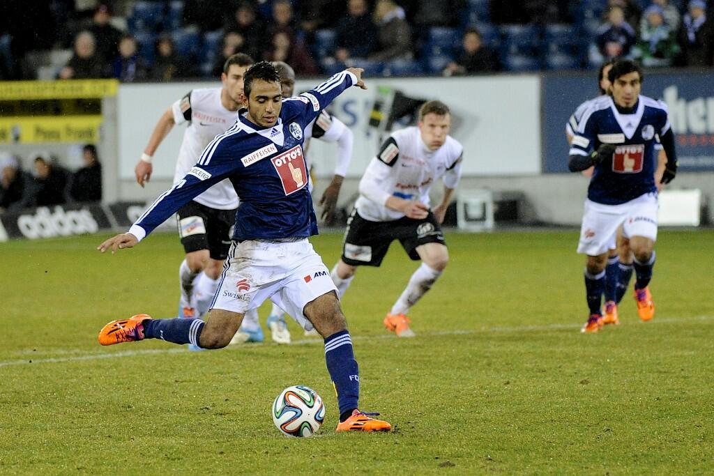 Mahmoud Kahraba scores - FC Luzern