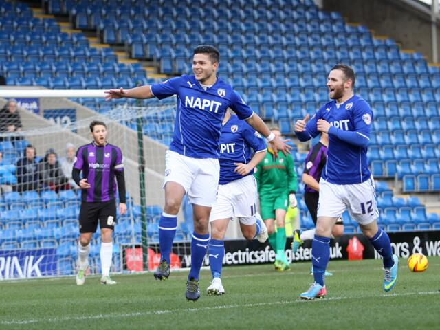 Sam Morsy scores Chesterfield