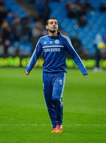 Salah - Chelsea warmup