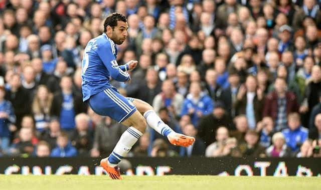 Salah - AS Roma- Chelsea goal