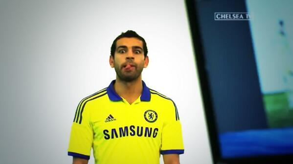 newest collection 254d3 7134d VIDEO: Salah features in Chelsea's 2014/15 away kit launch