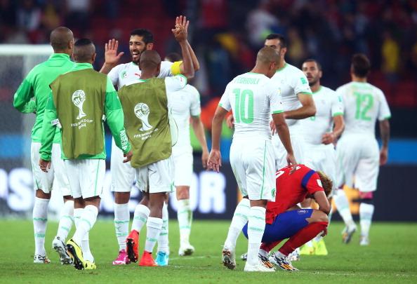 South Korea 2-4 Algeria
