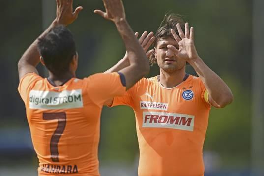 Kahraba scores Grasshopper Club Zurich