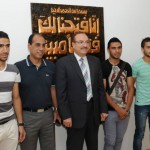 Arab Contractors trio