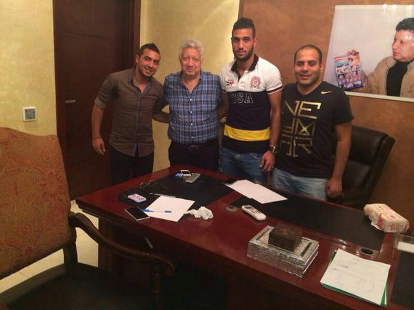 Ahmed El-Shennawy signs for Zamalek