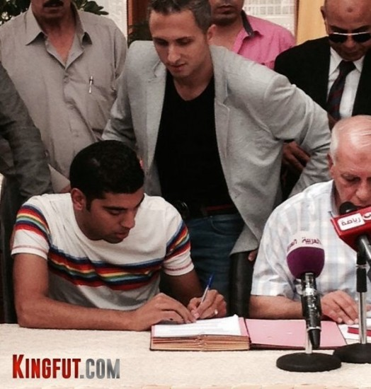 Aly Fathy signing