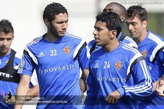 Ahmed Hamoudi awaits - El-Nenny - FC Basel