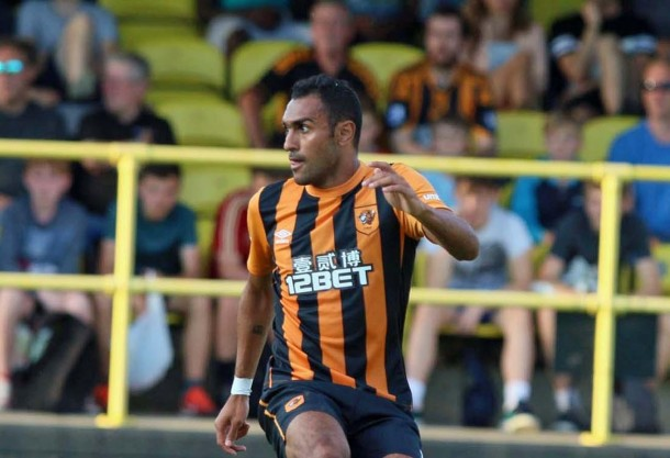 Ahmed Elmohamady excited