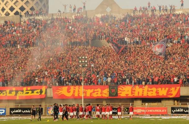Al Ahly fans celebrate
