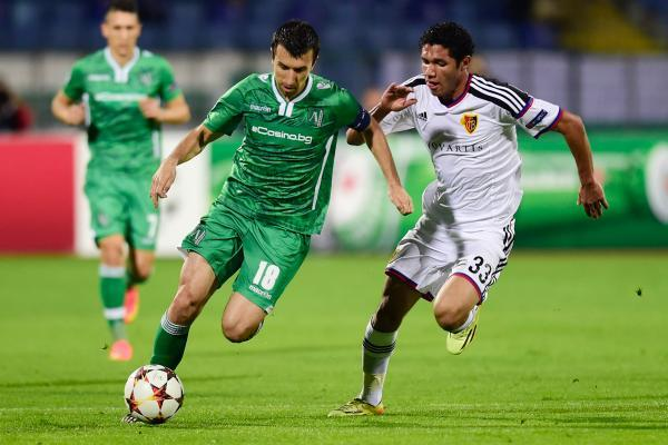 Ludogorets break Basel