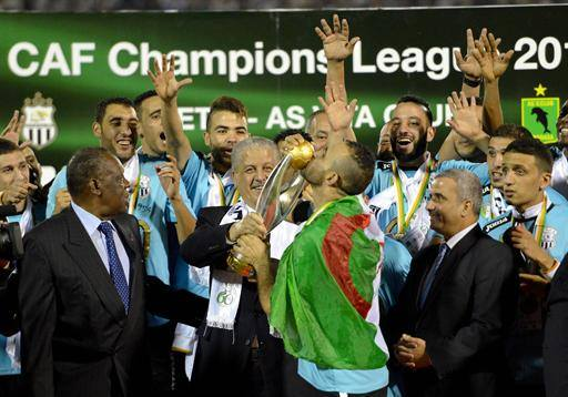 ES Setif are defending Algerian Ligue 1 champions
