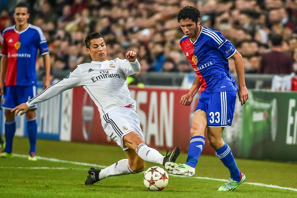 Basel lose - Mohamed El-Nenny vs Ronaldo