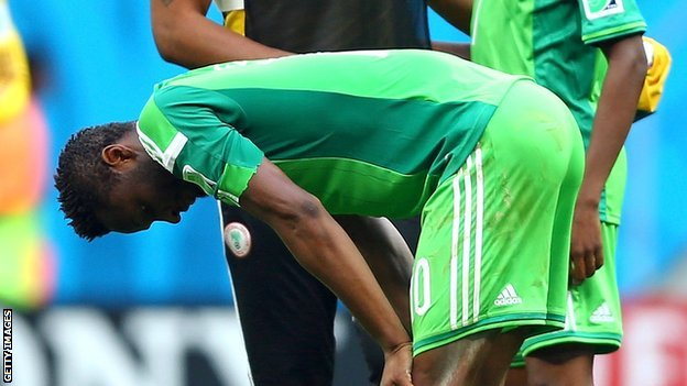 Nigeria Fail Qualification