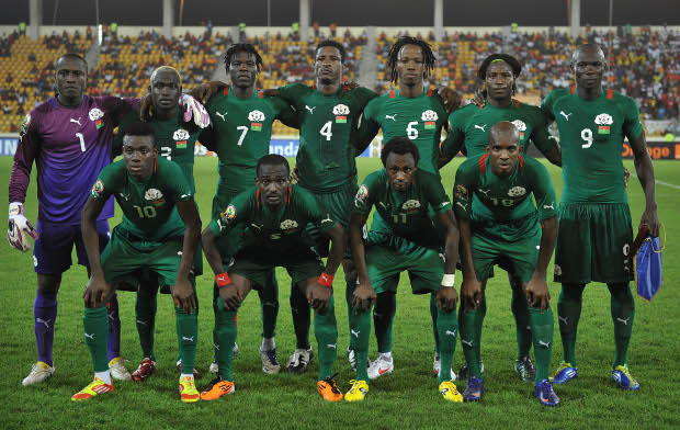 Burkina Faso  team picture ©Gavin Barker/BackpagePix