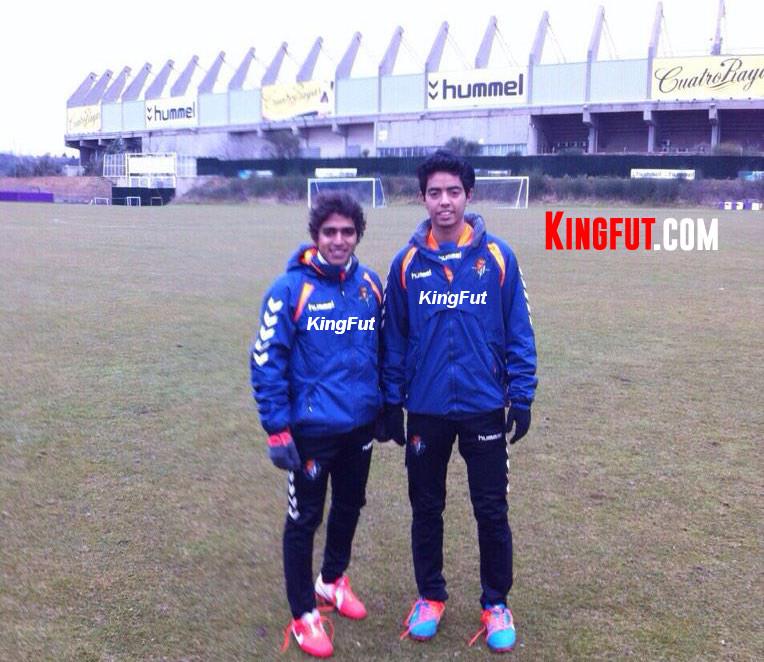 Essam & Kordy - Real Valladolid
