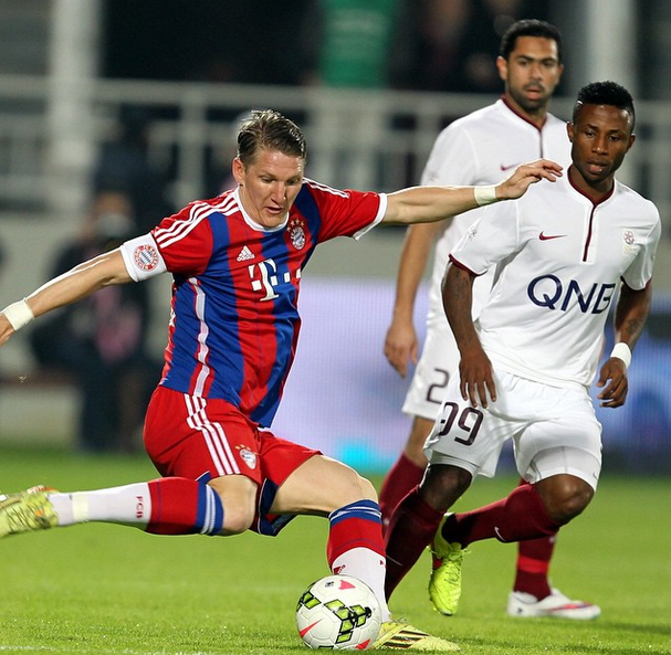 Ahmed Fathi vs Bayern Munich