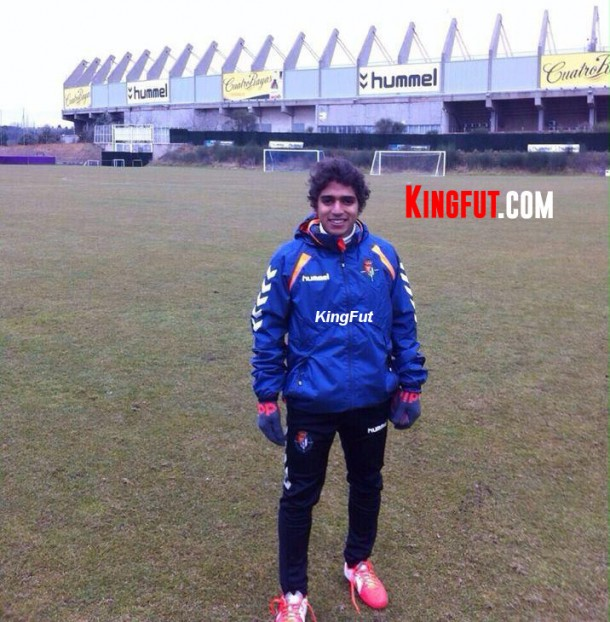 Mahmoud Essam-Real Valladolid Spain