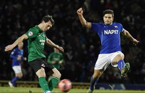 Sam Morsy - Chesterfield vs Scunthorpe