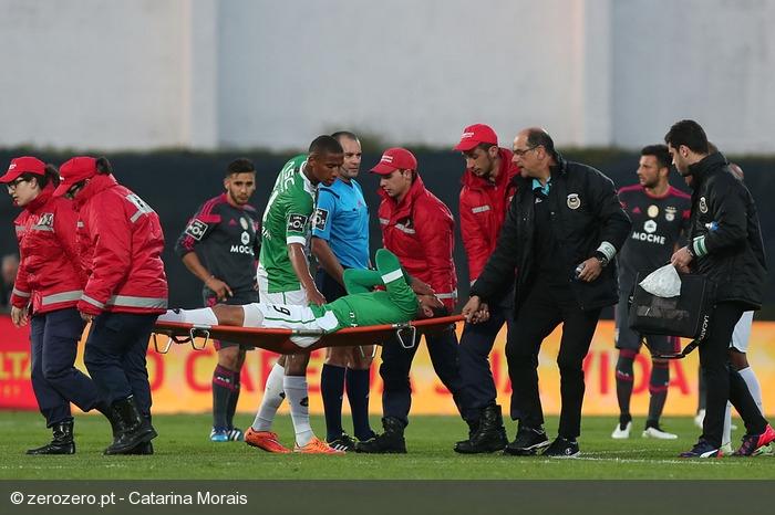 Koka injured Rio Ave