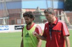 Hossam Ghaly and Garrido