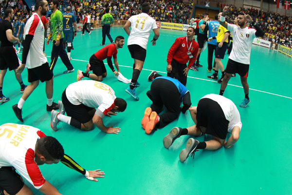 Egypt vs Brazil Handball Junior World Championship