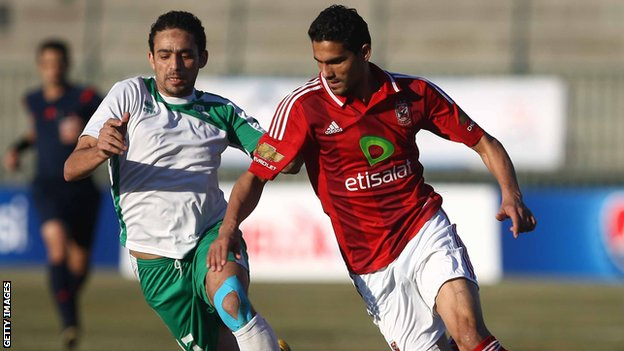 Al Ahly vs Al Masry - Raouf Naguib